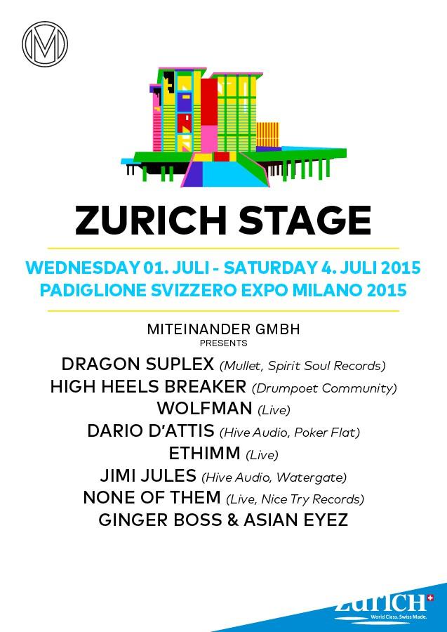 ZURICH STAGE - Expo Milano