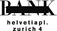 BANK Helvetiaplatz Zürich